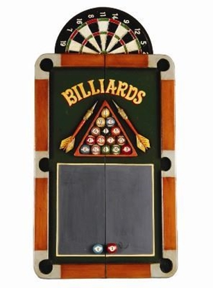 Picture of r933-Billiards Dartboard Cabinet