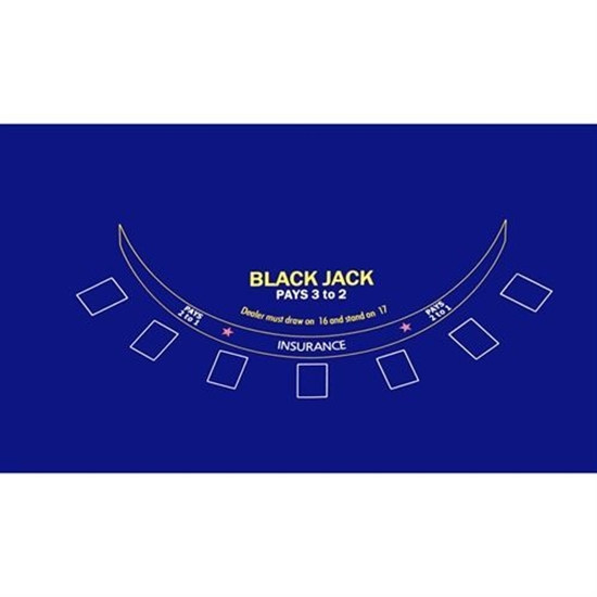Picture of 22311-Blackjack table felt screen-print