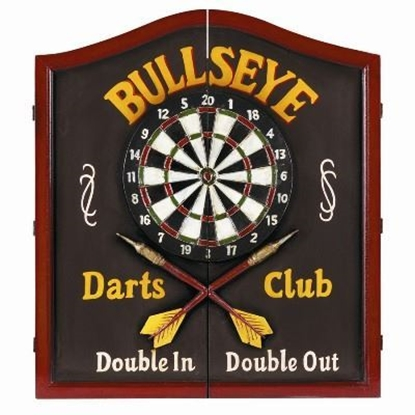 Picture of R641-Bullseye Dartboard Cabinet