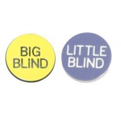 "Image de Bouton ""Big & little Blind"" -1 POUCE"