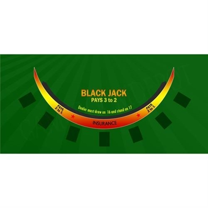 Image de CASINO Tapis Blackjack