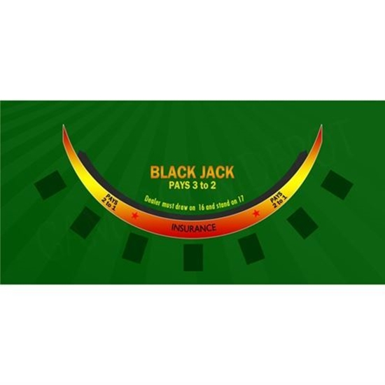 Picture of 22323-CASINO Blackjack Felt