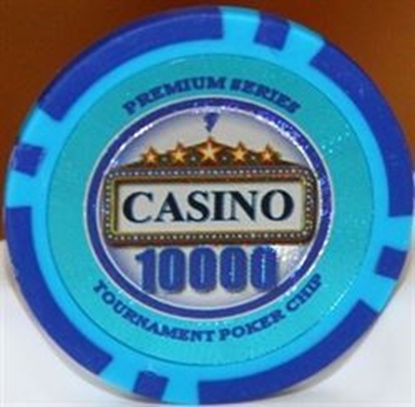 Picture of 12890-CASINO poker chips 14gr / 10 000