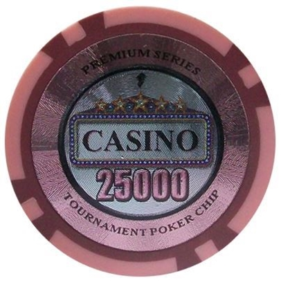Picture of 12891-CASINO poker chips 14gr / 25 000