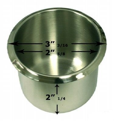 Picture of 10102-Cup holder ''STAINLESS''- Standard size