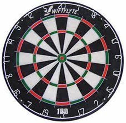 Picture of 41001-Dartboard Swiftflyte 180 Bristale