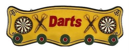 Picture of r209-Darts Coat Rack