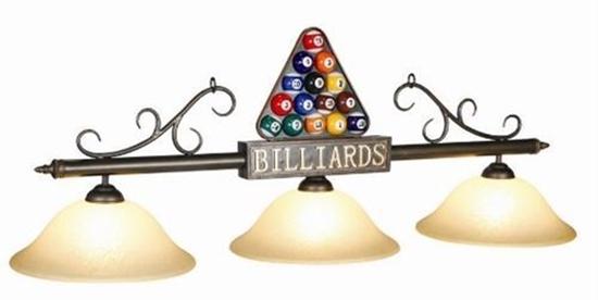 Image sur LAMPE DE BILLARD -BALLS&RACK