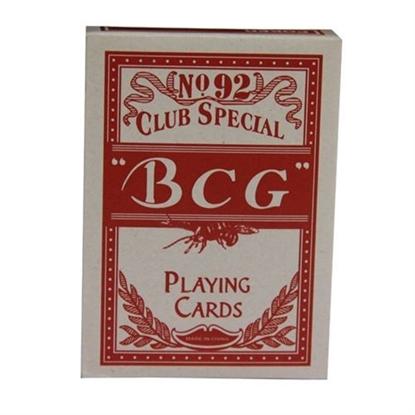Image de Jeu de cartes Std -BCG / Rouge