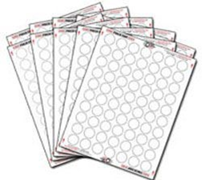 Image de 10602-Poker chips label set