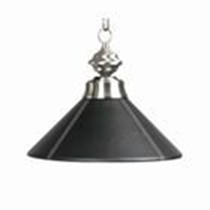 Picture of B14LTHRBLK-SINGLE PENDANT