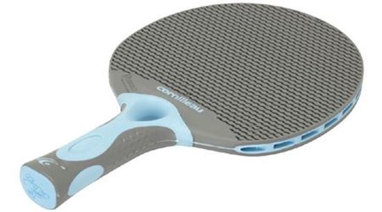 Image sur Raquette de Ping Pong  TACTEO T50 Gris & Bleu