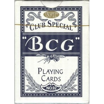 Picture of Playing cards deck std -BCG / Blue