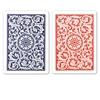 Image sur DuoPack Copag 100% plastic - Bleu & Rouge - Poker - Index jumb