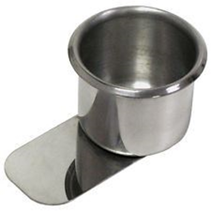 Picture of 10103-Cup holder with slide under ''STAINLESS''-  Standard size