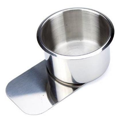 Picture of 10109-Cup holder with slide under ''STAINLESS''-  Jumbo size