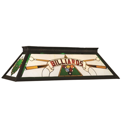 Image de 61523-TIFFANY BILLIARD LIGHT-RED