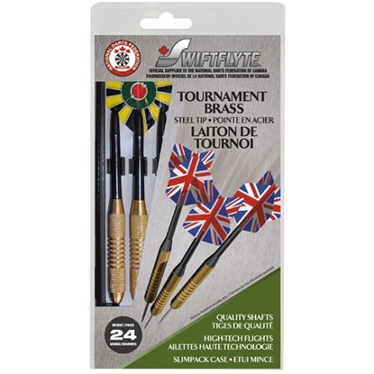 Picture of 42003- Classic Ovalyon Brass Darts