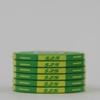 Picture of 12634-Ceramic Poker chip HotGen $25 /roll of 25