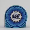Picture of 12635-Ceramic Poker chip HotGen $50 /roll of 25