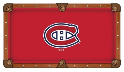 Picture of NHL Pool Table Cloth
