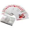 Picture of Decorative Silver plated playing card 24K