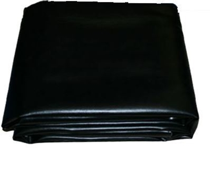 Picture of 50800- Faux Leather Fitted  billiard Table Cover 8' Black