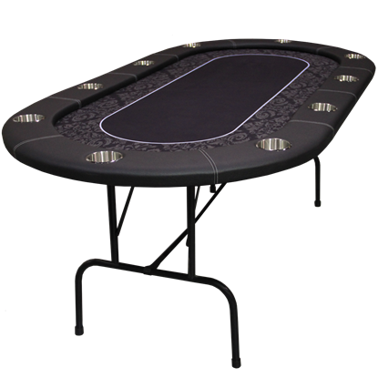 Image de Table de poker Ovale 84'' Série ProLegacy