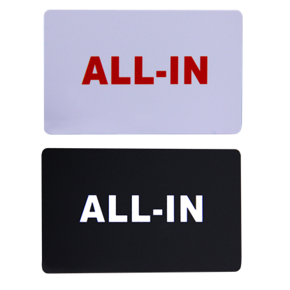 Image de Paquet de 5 cartes ''ALL-IN''