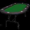 Image sur Table de poker Ovale 96'' Série Legacy