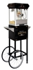 Picture of 71110- Black Golden Popcorn machine of 4oz. with cart