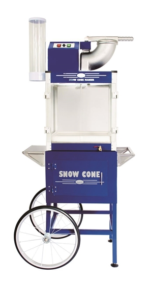 Image sur Machine à cone glacé avec chariot