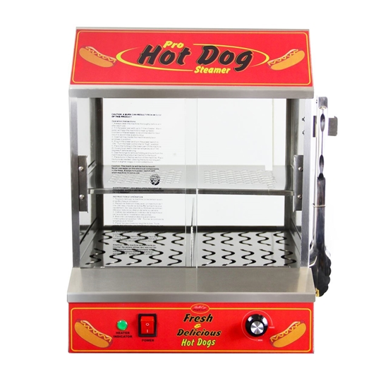 "Picture of 77300 *NEW* BullsEye Hot Dog Steamer ""HOT STATION"""