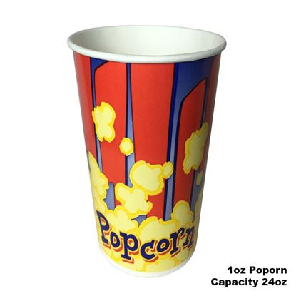 Picture of Popcorn Cup  1oz / 40pcs