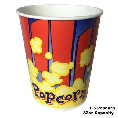 Picture of Popcorn Cup  1.5oz / 25pcs