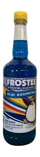 Picture of 73020 - Snow cone syrup Blue Raspberry
