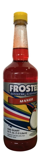 Picture of 73025 - Snow cone mango flavor 1L.