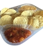 Picture of 69003 - Clear Nacho tray 3 comp 7''x9'' -125pcs