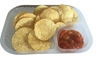 Picture of Clear Nacho tray 2comt 4''x5'' -125pcs