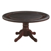 Picture of Wooden Poker Table 2 IN 1– BLACK