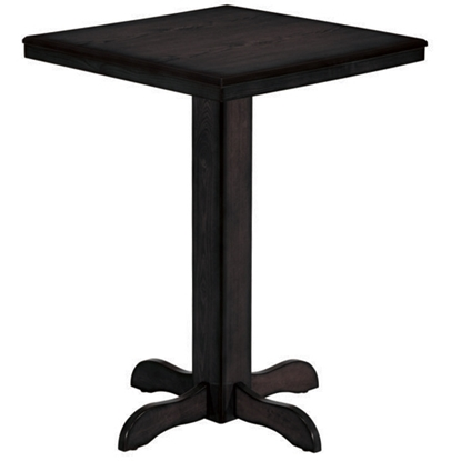 Picture of BPUB2 BLK | SQUARE PUB TABLE - BLACK