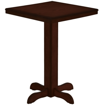 Picture of BPUB2 CAP | SQUARE PUB TABLE - CAPPUCCINO