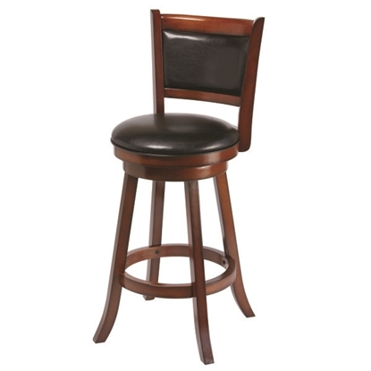 Picture of BBSTL CN | BACKED BARSTOOL - CHESTNUT