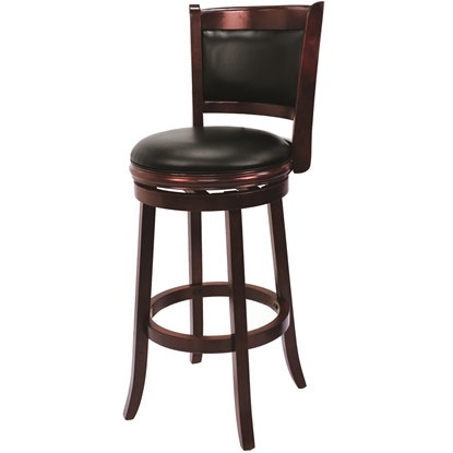 Image de BBSTL ET | BACKED BARSTOOL - ENGLISH TUDOR