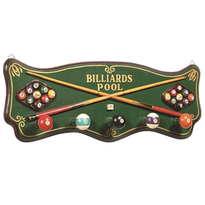 Image de R181 | PUB SIGN-BILLIARDS COAT RACK