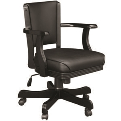 Picture of GCHR2 BLK | SWIVEL GAME CHAIR - BLACK