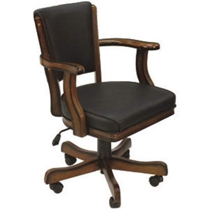 Image de GCHR2 CN | SWIVEL GAME CHAIR - CHESTNUT