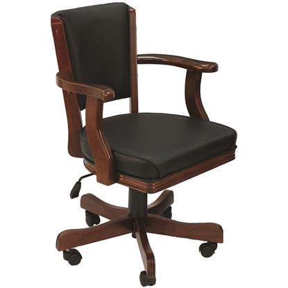 Picture of GCHR2 ET | SWIVEL GAME CHAIR - ENGLISH TUDOR