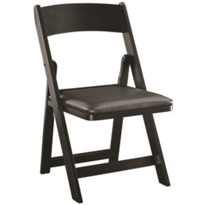 Picture of GCHR4 BLK | FOLDING GAME CHAIR - BLACK