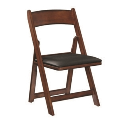 Image de GCHR4 CN | FOLDING GAME CHAIR - CHESTNUT